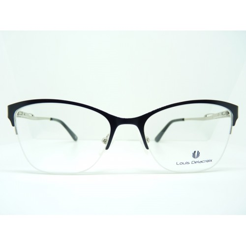 Louis Delacroix Oprawa okularowa damska 73059RW Col.01 - czarny