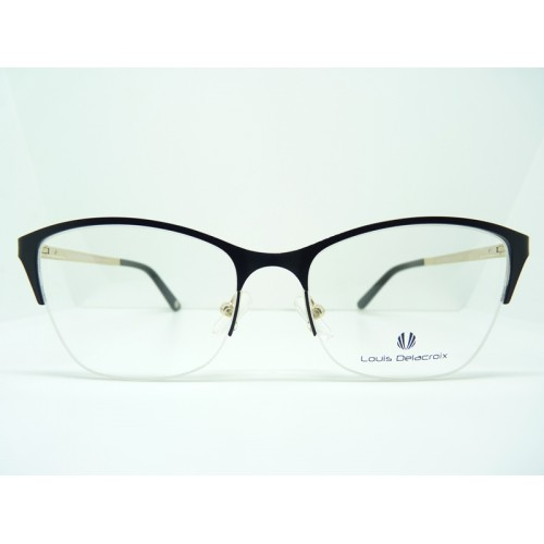 Louis Delacroix Oprawa okularowa damska 73063AB Col.01 - czarny