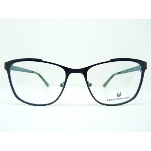 Louis Delacroix Oprawa okularowa damska 73063X Col.03 - czarny, zielony
