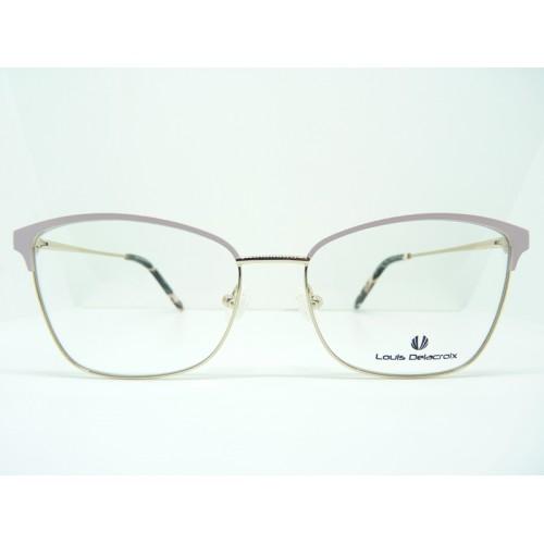 Louis Delacroix Oprawa okularowa damska 73116RW Col.03 - różowy