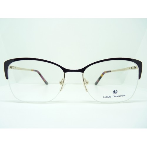 Louis Delacroix Oprawa okularowa damska 73168RW Col.03 - czarny, złoty