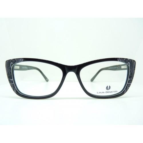 Louis Delacroix Oprawa okularowa damska 77060X Col.01 - czarny