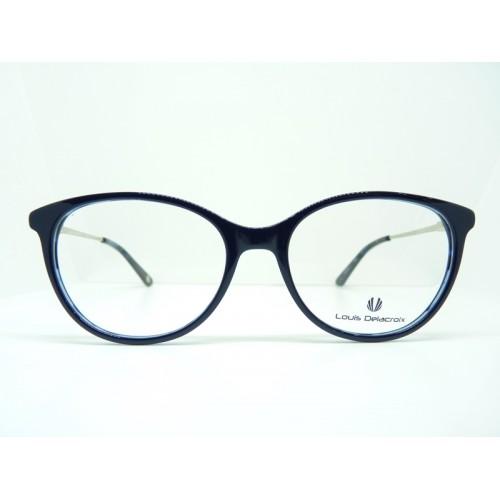 Louis Delacroix Oprawa okularowa damska 77140CD-A Col.02 - granatowy