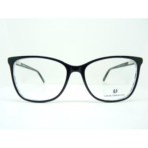 Louis Delacroix Oprawa okularowa damska 77153CD Col.02 - czarny