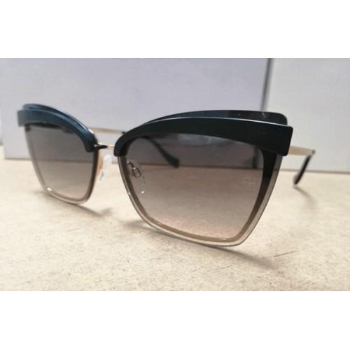 Ana Hickmann Okulary przeciwsłoneczne damskie AH3177 04AB - złoty, szary, filtr UV 400