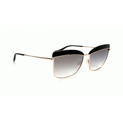 Ana Hickmann Okulary przeciwsłoneczne damskie AH3191 A01 - czarny, złoty, filtr UV 400