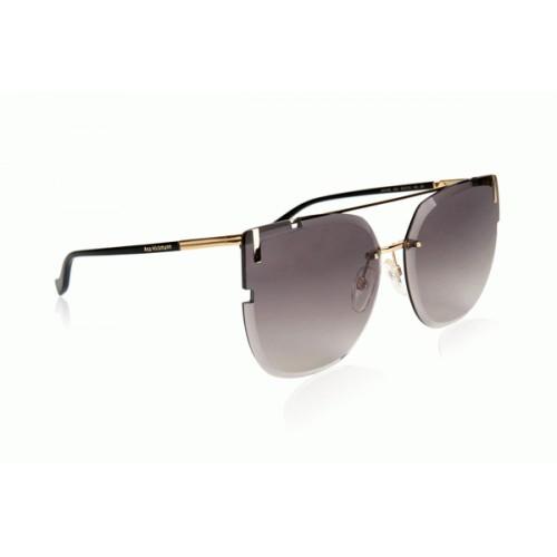 Ana Hickmann Okulary przeciwsłoneczne damskie AH3195 04A - czarny, złoty, filtr UV 400