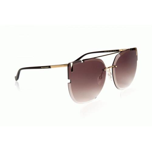 Ana Hickmann Okulary przeciwsłoneczne damskie AH3195 04B - złoty, brązowy, filtr UV 400