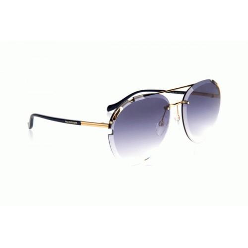 Ana Hickmann Okulary przeciwsłoneczne damskie AH3196 04C - złoty, brązowy, filtr UV 400