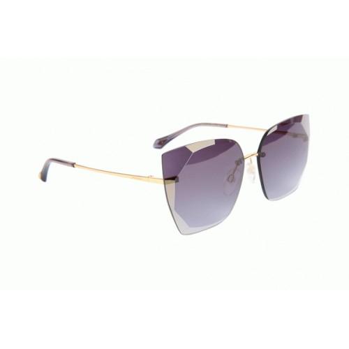 Ana Hickmann Okulary przeciwsłoneczne damskie AH3201 04A - złoty, szary, filtr UV 400
