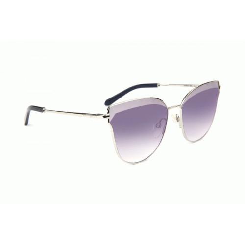 Ana Hickmann Okulary przeciwsłoneczne damskie AH3215 03A - srebrny, filtr UV 400