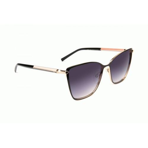 Ana Hickmann Okulary przeciwsłoneczne damskie AH3216 09A - złoty, filtr UV 400