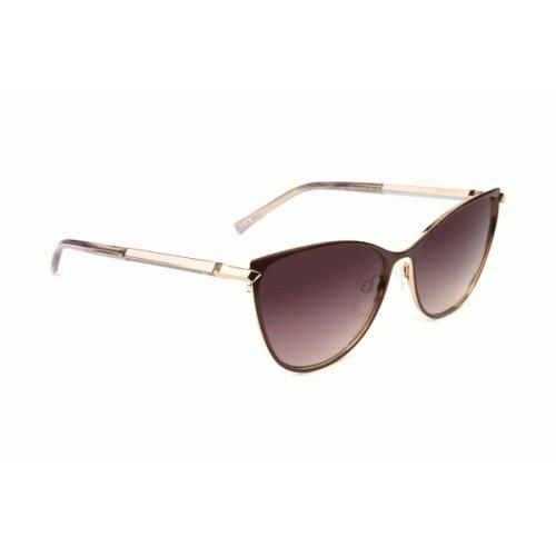Ana Hickmann Okulary przeciwsłoneczne damskie AH3217 01A - złoty, brązowy, filtr UV 400