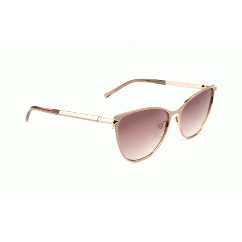 Ana Hickmann Okulary przeciwsłoneczne damskie AH3217 01B - złoty, beżowy, filtr UV 400
