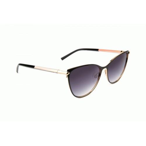 Ana Hickmann Okulary przeciwsłoneczne damskie AH3217 09A - czarny, złoty, filtr UV 400