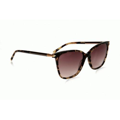Ana Hickmann Okulary przeciwsłoneczne damskie AH9271 G21 - brązowy, filtr UV 400