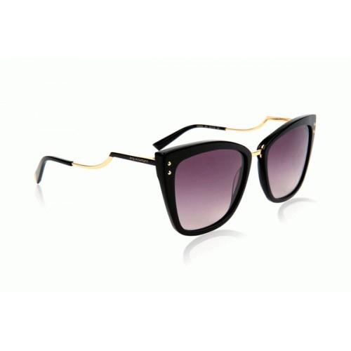 Ana Hickmann Okulary przeciwsłoneczne damskie AH9279 A01 - czarny, filtr UV 400