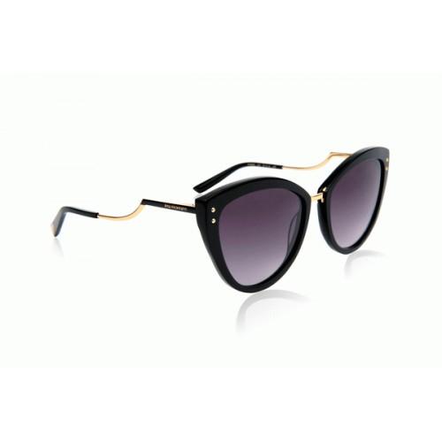 Ana Hickmann Okulary przeciwsłoneczne damskie AH9280 A01 - czarny, filtr UV 400