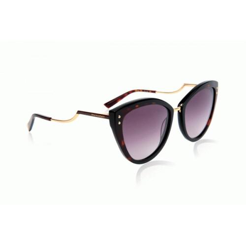 Ana Hickmann Okulary przeciwsłoneczne damskie AH9280 P01 - brązowy, filtr UV 400