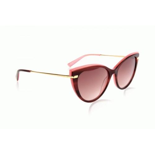 Ana Hickmann Okulary przeciwsłoneczne damskie AH9281 H03 - różowy, brązowy, filtr UV 400