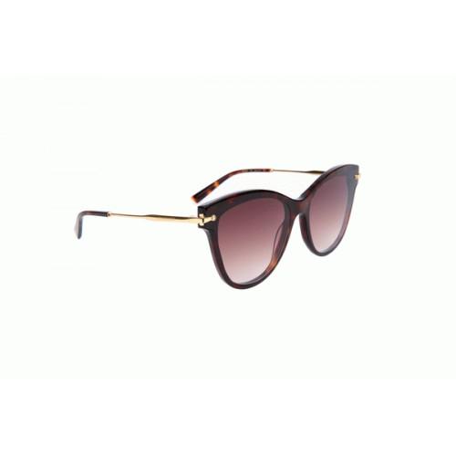 Ana Hickmann Okulary przeciwsłoneczne damskie AH9283 G21 - brązowy, filtr UV 400
