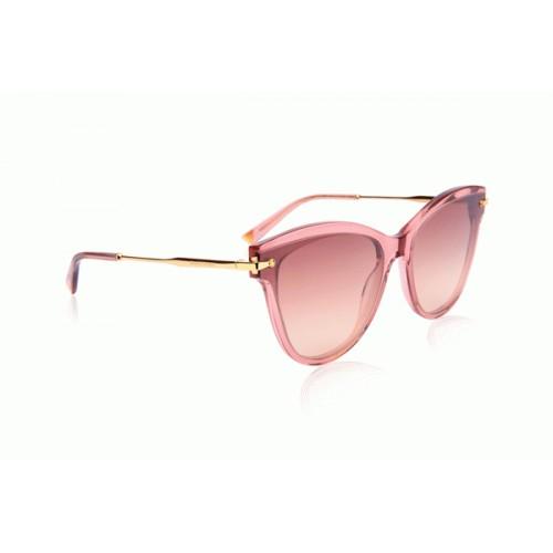 Ana Hickmann Okulary przeciwsłoneczne damskie AH9283 T02 - różowy, filtr UV 400