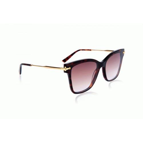 Ana Hickmann Okulary przeciwsłoneczne damskie AH9284 G21 - brązowy, filtr UV 400