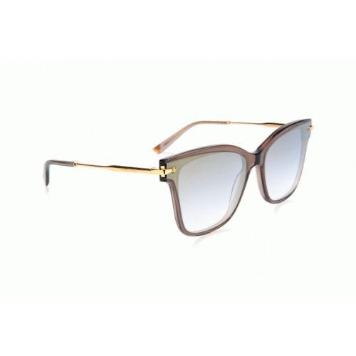 Ana Hickmann Okulary przeciwsłoneczne damskie AH9284 T01 - szary, filtr UV 400