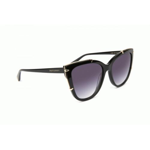 Ana Hickmann Okulary przeciwsłoneczne damskie AH9286 A02 - czarny, filtr UV 400