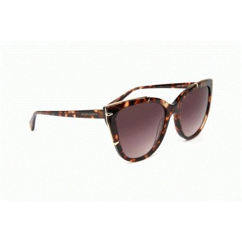 Ana Hickmann Okulary przeciwsłoneczne damskie AH9286 G21 - brązowy, filtr UV 400