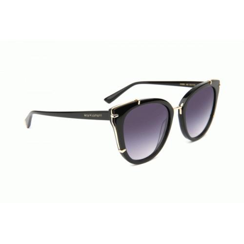 Ana Hickmann Okulary przeciwsłoneczne damskie AH9288 A02 - czarny, filtr UV 400