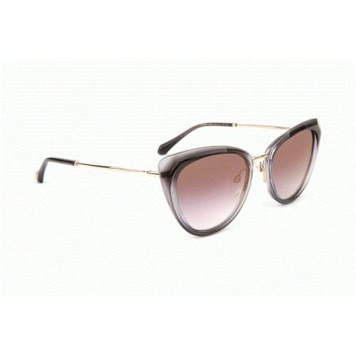 Ana Hickmann Okulary przeciwsłoneczne damskie AH9291 C01 - złoty, szary, filtr UV 400