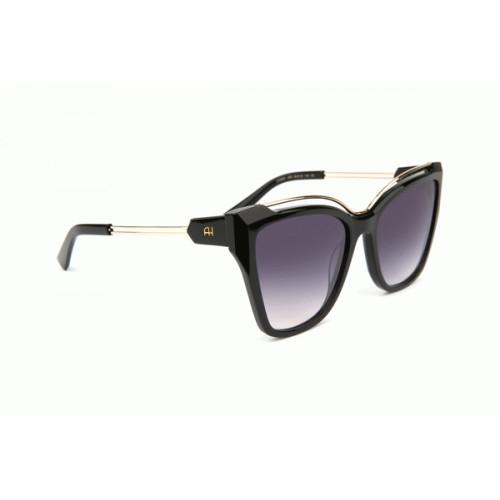 Ana Hickmann Okulary przeciwsłoneczne damskie AH9292 A02 - czarny, złoty, filtr UV 400