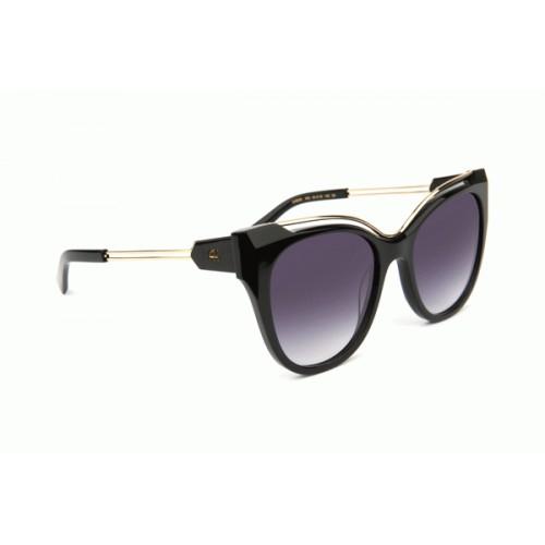 Ana Hickmann Okulary przeciwsłoneczne damskie AH9293 A02 - czarny, złoty, filtr UV 400