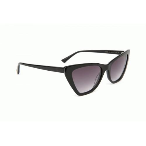 Ana Hickmann Okulary przeciwsłoneczne damskie AH9298 A01 - czarny, filtr UV 400