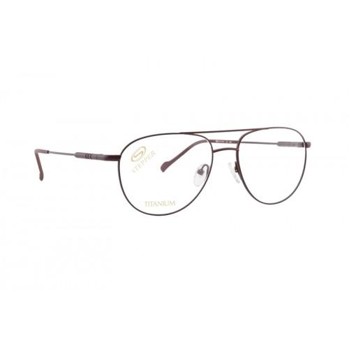 Okulary korekcyjne męskie SI-60194 F0331 - czerwony
