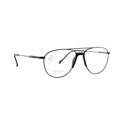 Okulary korekcyjne męskie SI-60198 F099 - czarny