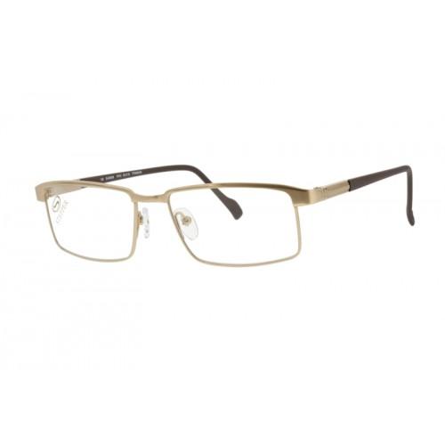 Stepper Oprawa okularowa męska SI-60039 F010 - złoty