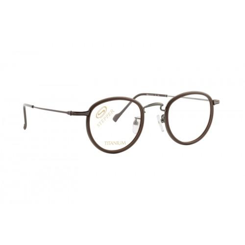Stepper Okulary korekcyjne damskie SI-60144 F0113 - brązowy
