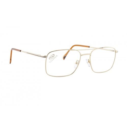 Stepper Okulary korekcyjne męskie SI-6016 F0121 - złoty