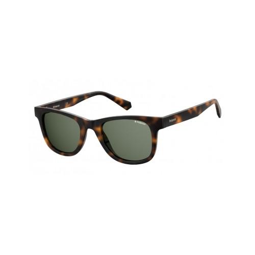 Polaroid Okulary przeciwsłoneczne męskie PLD 1016/NEW - brązowy, polaryzacja