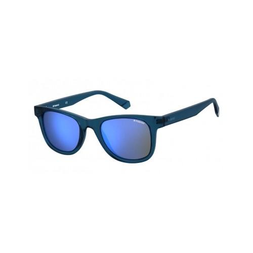 Polaroid Okulary przeciwsłoneczne męskie PLD 1016/NEW - granatowy, polaryzacja