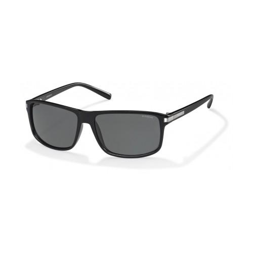 Polaroid Okulary przeciwsłoneczne męskie PLD 2019 D28 - czarny, polaryzacja