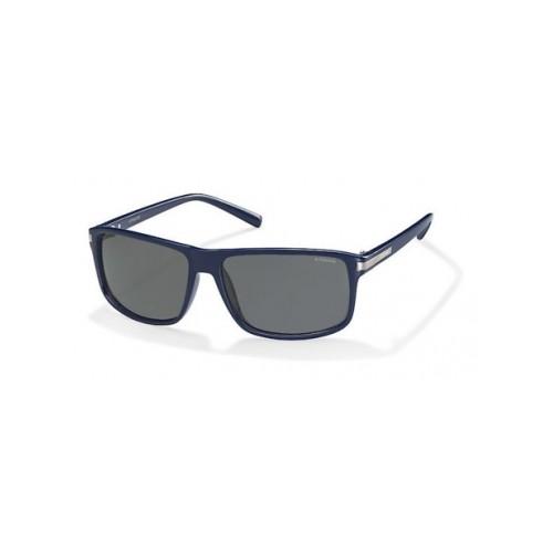 Polaroid Okulary przeciwsłoneczne męskie PLD 2019 D28 - granatowy, polaryzacja