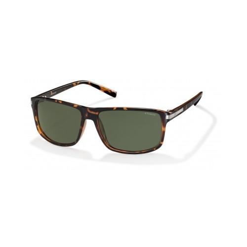 Polaroid Okulary przeciwsłoneczne męskie PLD 2019 PZO - brązowy, polaryzacja