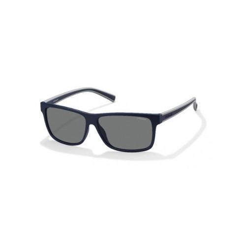 Polaroid Okulary przeciwsłoneczne męskie PLD 2027 - czarny, polaryzacja