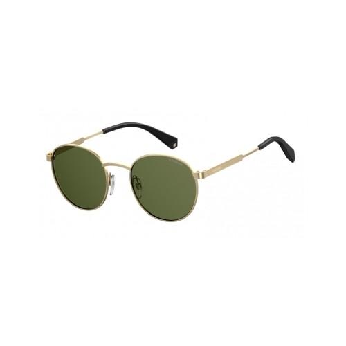 Polaroid Okulary przeciwsłoneczne męskie/damskie PLD 2053 - złoty, polaryzacja