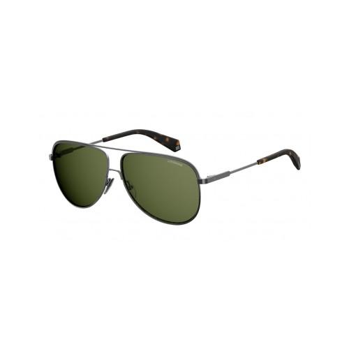 Polaroid Okulary przeciwsłoneczne męskie PLD 2054 - szary, polaryzacja