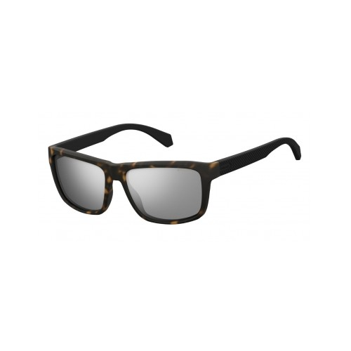 Polaroid Okulary przeciwsłoneczne męskie PLD 2058 - brązowy, polaryzacja