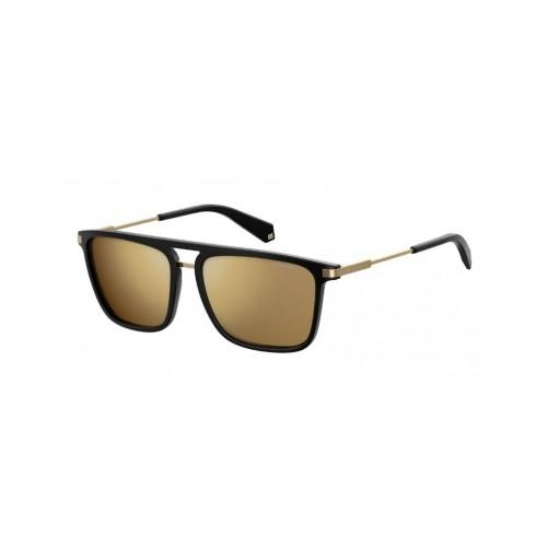 Polaroid Okulary przeciwsłoneczne męskie PLD 2060 BSC- czarny, polaryzacja